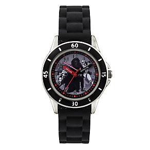 Star Wars Children's Kylo Ren Time Teacher Black Strap Watch - Product number 4219155