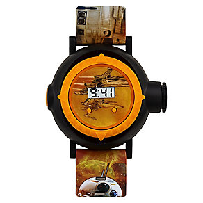 Star Wars BB-8 Children's Digital Projector Strap Watch - Product number 4219163
