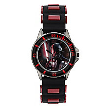 Star Wars Children's Darth Vader Black & Red Strap Watch - Product number 4219171