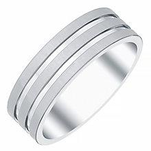 Men's Titanium 3-Row 7MM Ring - Product number 4222032