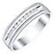 Men's Sterling Silver 0.15ct Diamond Ring - Product number 4222679