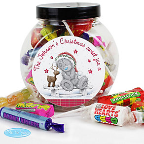 Personalised Me To You Reindeer Sweet Jar - Product number 4229959