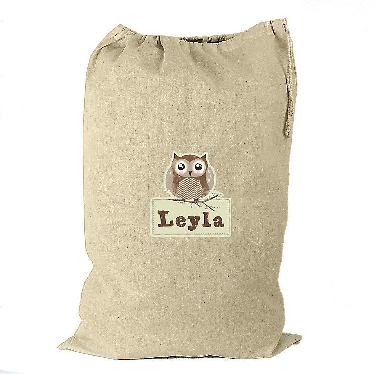 Personalised Woodland Owl Cotton Sack - Product number 4230159