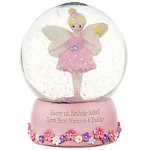 Engraved Fairy Snow Globe - Product number 4230280
