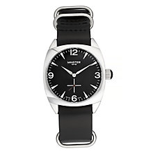 Minster Burlingham Men's Stainless Steel Round Strap Watch - Product number 4230469