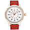 Minster Bradnor Men's Rose Gold-plated Round Strap Watch - Product number 4230825