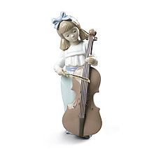 Nao Girl With Cello Figurine - Product number 4245873