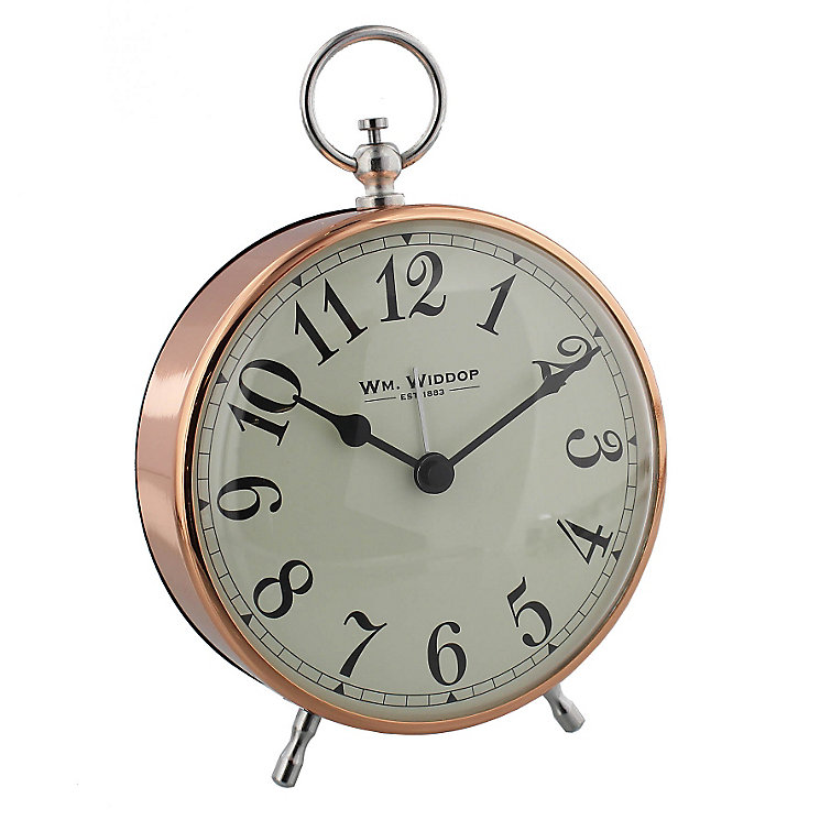 Gold-Plated Arabic Alarm Clock - Product number 4246098