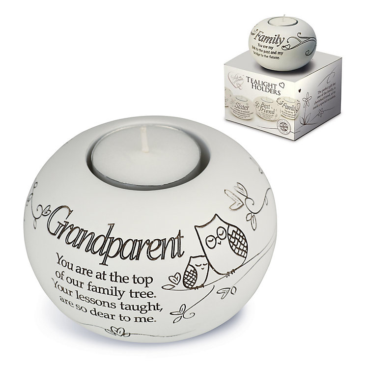 Grandparent Tea Light Holder - Product number 4246292