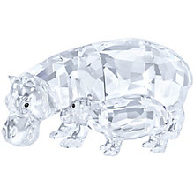 Swarovski Hippo Mother and Baby - Product number 4246497