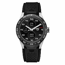 TAG Heuer Connected Men's Black Strap Watch - Product number 4253787