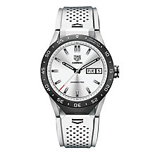 TAG Heuer Connected Men's White Strap Watch - Product number 4253795