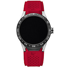 TAG Heuer Connected Men's Red Strap Watch - Product number 4253833