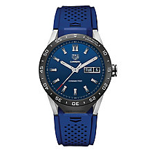 TAG Heuer Connected Men's Blue Strap Watch - Product number 4253841