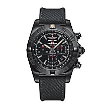 Breitling Chronomat 44 Blacksteel Men's Strap Watch - Product number 4261240