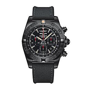 Breitling Chronomat 44 Blacksteel Men's Strap Watch - Product number 4261240