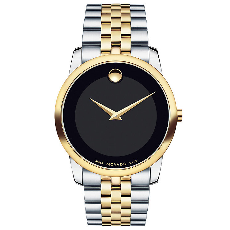 Movado Men's Two Colour Bracelet Watch - Product number 4261569