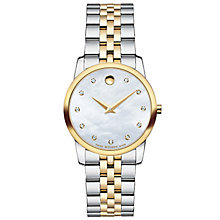 Movado Ladies' Two Colour Bracelet Watch - Product number 4261860
