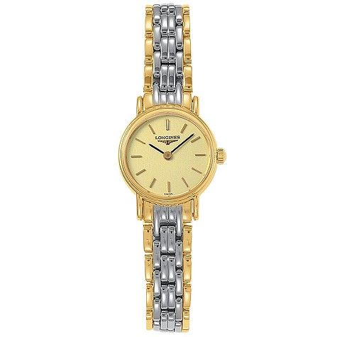 Longines Presence ladies' two-colour bracelet watch