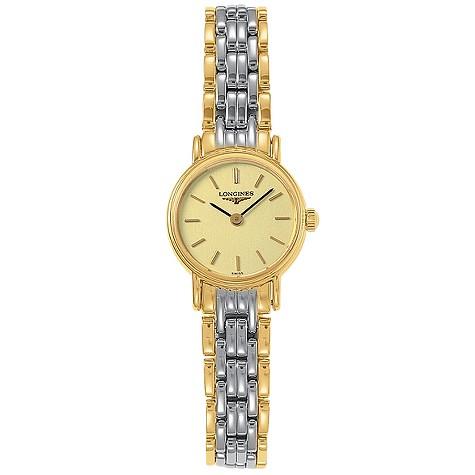 Longines Presence ladies' two-colour bracelet watch