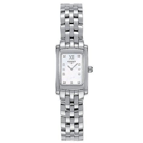Longines DolceVita ladies' stainless steel watch