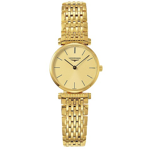 Longines La Grande Classique ladies' gold-plated watch