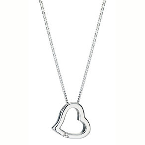 Silver Heart Pendant - Product number 4300505