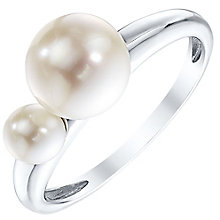 Silver Cultured Freshwater Pearl Ring - Product number 4304020