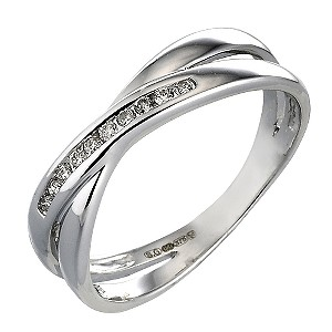 9ct White Gold Carat Diamond Eternity Ring