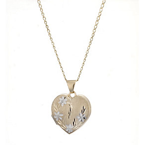 9ct Gold Locket - Product number 4319796