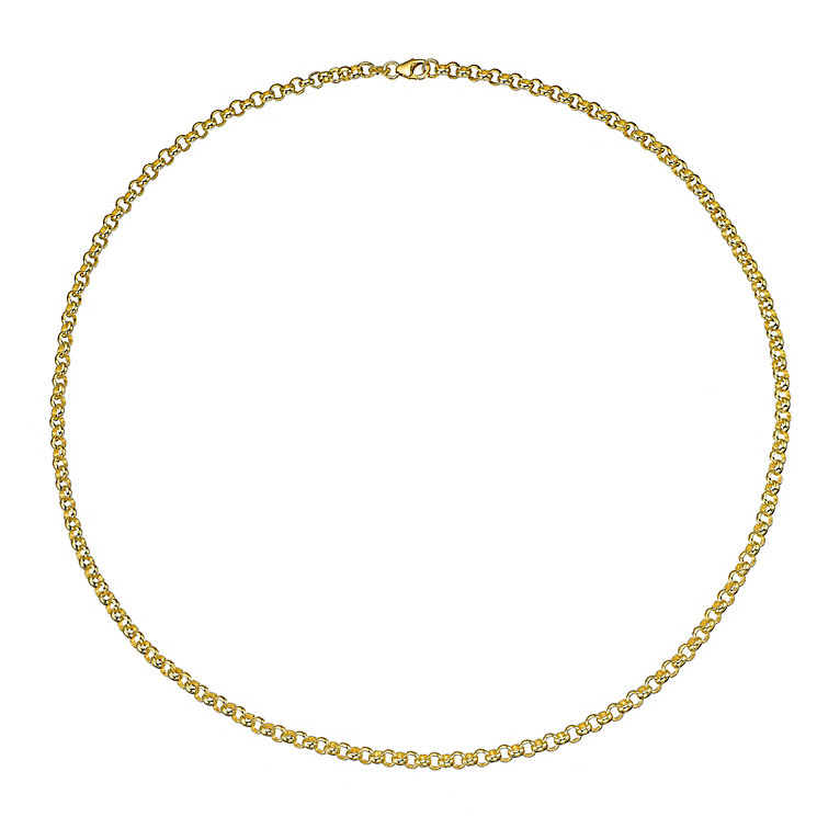 "Men's 9ct 20"" 3.8m Belcher Chain - Product number 4323211"
