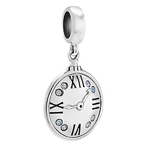Chamillia Sterling Silver Pocket Watch Charm - Product number 4327209