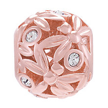 Chamilia Sterling Silver Rose Gold Plate Dragonfly Bead - Product number 4327748