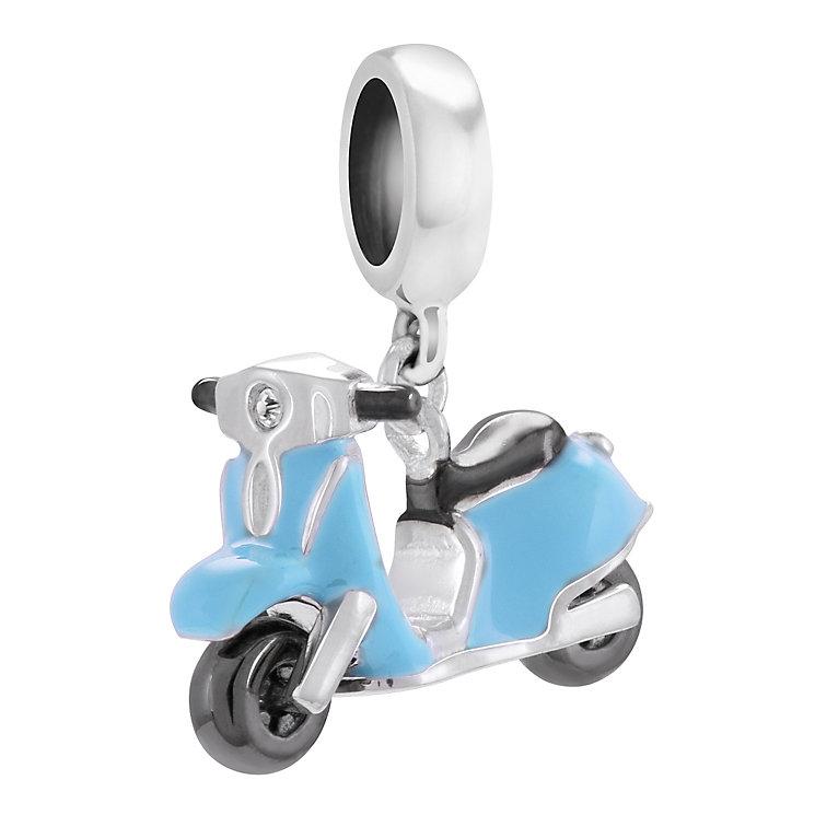 Chamilia Sterling Silver Blue Enamel Mini Moto Charm - Product number 4328248
