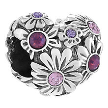 Chamilia Sterling Silver Heart Bead - Product number 4329643