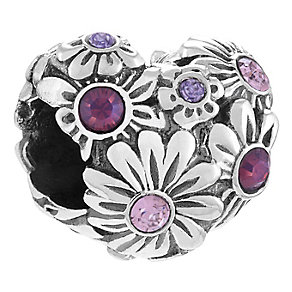 Chamillia Sterling Silver Heart Bead - Product number 4329643