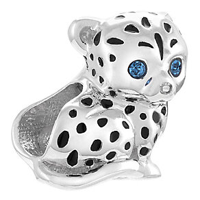 Chamillia Sterling Silver Leopard Print Bead - Product number 4330382