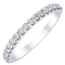 Platinum 0.33ct Diamond Band - Product number 4330412