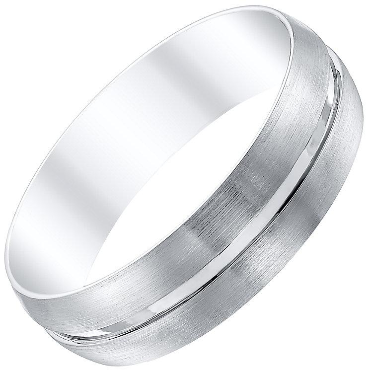 Men's Palladium 6mm Band - Product number 4333543