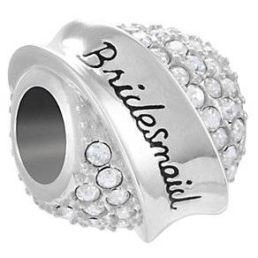 Chamilia Sterling Silver Bridesmaid Banner Bead - Product number 4341481