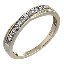 9ct Gold Diamond Ring - Product number 4345258