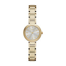 DKNY Ladies' Gold Tone Bracelet Watch - Product number 4347137