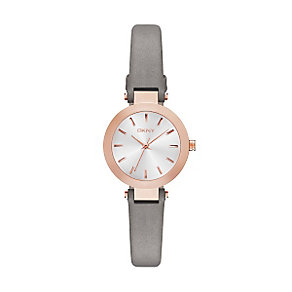 DKNY Ladies' Rose Gold Tone Strap Watch - Product number 4347196