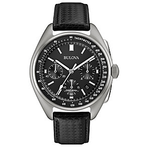Bulova Moonwatch Men's Stainless Steel Strap Watch - Product number 4353447