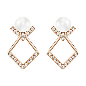 Swarovski Edift Rose Gold Plated Earrings - Product number 4353897