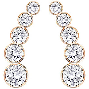 Swarovski Harley Rose Gold Plated Earrings - Product number 4354117