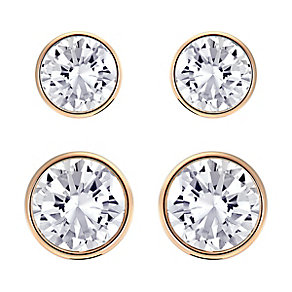 Swarovski Harley Rose Gold Plated Earring Set - Product number 4354141