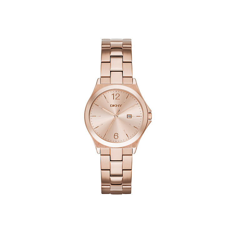 DKNY Ladies' Rose Gold Tone Bracelet Watch - Product number 4355326