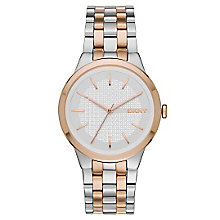 Dkny Ladies' Two Colour Bracelet Watch - Product number 4355342