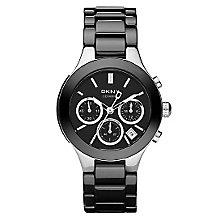 DKNY Ladies' Stainless Steel Ceramic Bracelet Watch - Product number 4355377